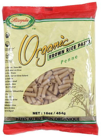 ORG BROWN RICE PENNE