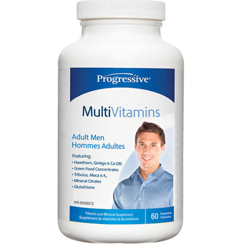 Progressive Multi Vit - Adult MEN  60 caps