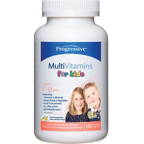 Progressive Kids Multi 120 chew tabs