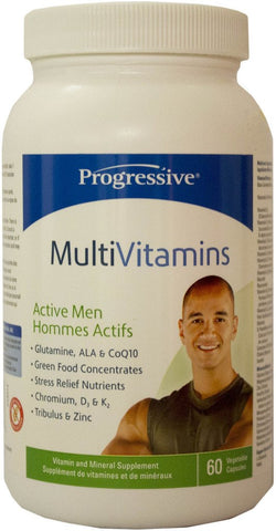 Progressive Multi Vit - MEN Active 60 caps