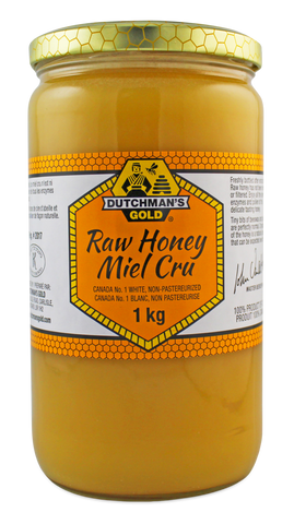 Dutchman's Raw Honey 1 KG