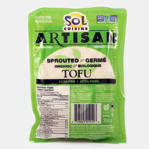 solcuisine sprouted tofu extra firm