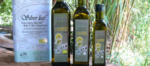 SILVER LEAF - OLIVE OIL 250ML
