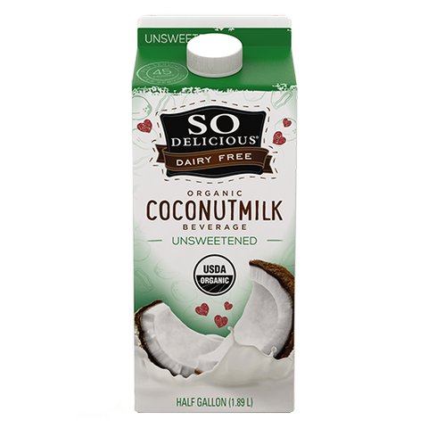 so delicious coconut unsweetened 1.89l