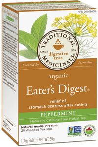 EATER'S DIGEST PEPPERMINT 20 TEA BAGS