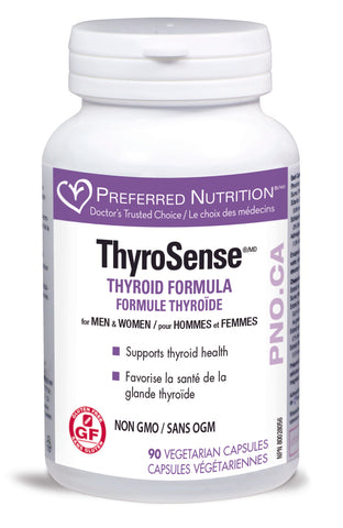 PREFERRED NUTRITION ThyroSense Formula 90vcaps