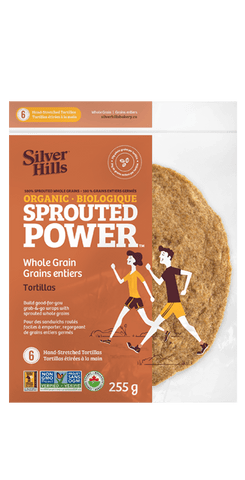 SPROUTED WHOLEGRAIN TORTILLAS 255G