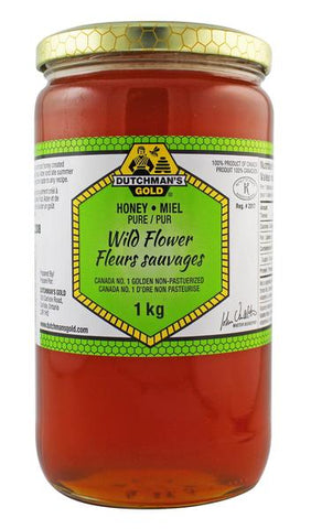 DUTCHMANS WILD FLOWER HONEY 1 KG