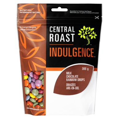 Central Roast Milk Chocolate Rainbow Drops 325g