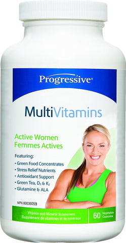 Progressive Multi Vit - Active WOMEN 60 caps