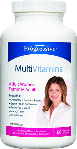 Progressive Multi Vit - Adult WOMEN 60 caps
