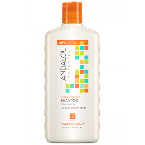 SWEET ORANGE AND ARGAN MOISTURE SHAMPOO 340 ML
