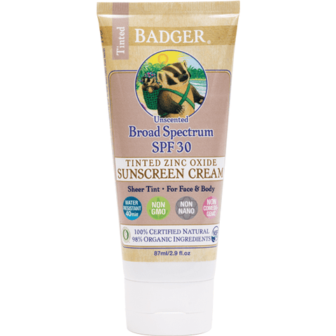 SPF 30 SHEER TINTED SUNSCREEN CREAM 87ML