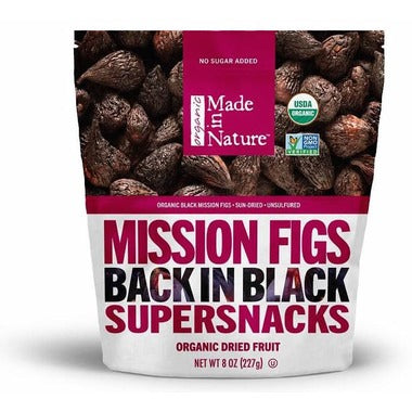 Made In Nature Black Mission Figs 227g