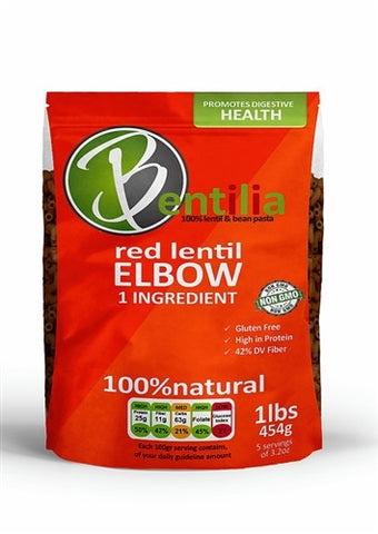 RED LENTIL ELBOW 454G