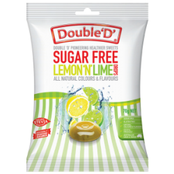 SUGAR FREE LEMON LIME DROPS 70G