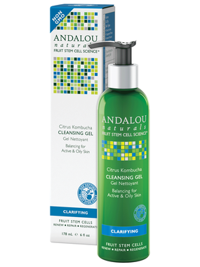 Andalou Citrus Kombucha Cleansing Gel 178ml