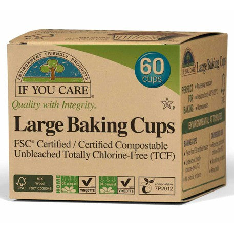 Baking Cups Lg 60 CT