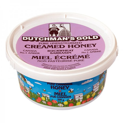Dutchman's Creamed Buckwheat Honey 500g