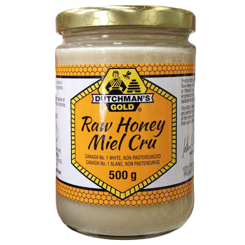 Dutchman's Raw Honey 500 G