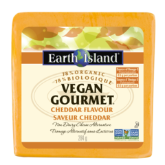 Earth Island Vegan Cheddar