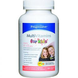 Progressive Kids Multivitamins 60 chew tabs