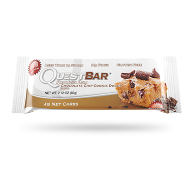 Quest Bar Chocolate Chip Cookie Dough 60g