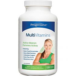 Progressive Multi Vit - Active WOMEN 120 caps