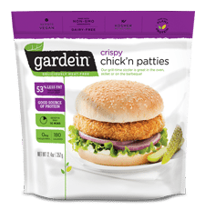 MEAT FREE CHICKÈN PATTIES 350G