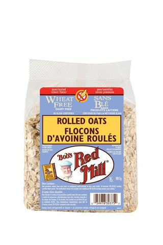 BOB'S GF ROLLED OATS WHEAT FREE 907g
