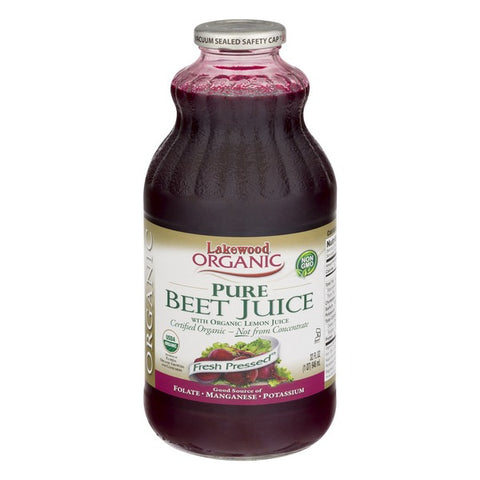 LAKEWOOD Organic Beet Juice w/Lemon 1L