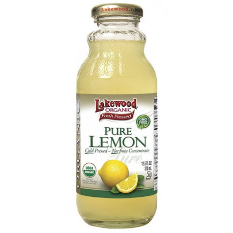 LAKEWOOD PURE LEMON 370 ML