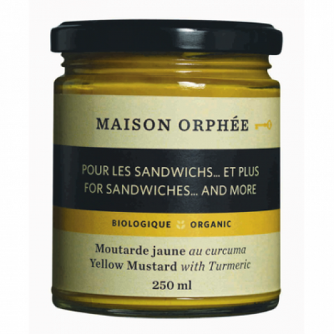 ORPHEE YELLOW MUSTD 250ML