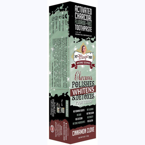 CINNAMON CLOVE CHARCOAL TOOTHPASTE 113G