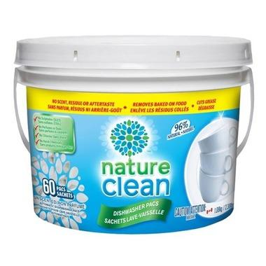 nature clean dish pac 60pac