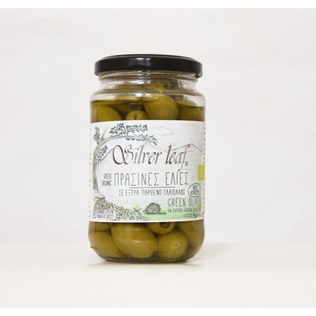SILVER LEAF - ORG. GREEN OLIVES