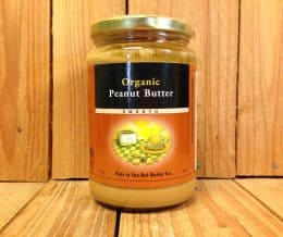 ORGANIC PEANUT BUTTER SMOOTH 750G
