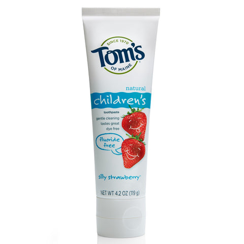 Toms of Maine Toothpaste Silly Strawberry 85 ml