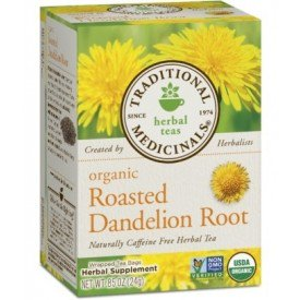 Organic Roasted Dandelion Root 20ct