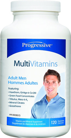 Progressive Multi Vit - Adult  MEN 120 caps