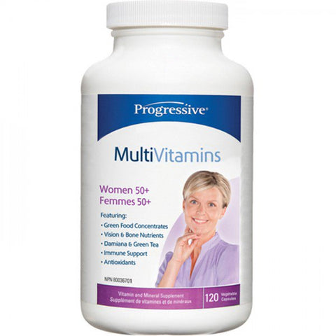 Progressive Multi Vitamin Women 50+ 120vcaps