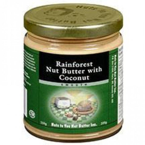 Rainforest Nut Butter w-Coconut-Smooth 250g