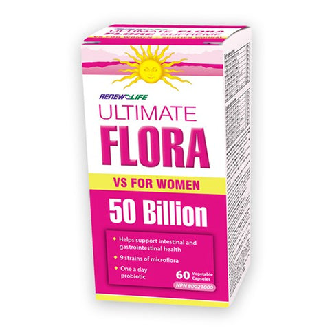 ULTIMATE FLORA VAGINAL SUPPORT 30'S