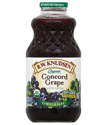 RW Knudson Organic Concord Grape Juice 946ml