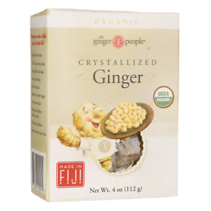 CRYSTALLIZED GINGER 112G