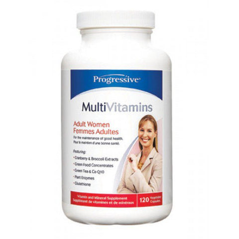 Progressive Multi Vit - Adult WOMEN 120 caps