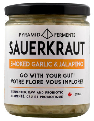 old smoky sauerkraut 490ml