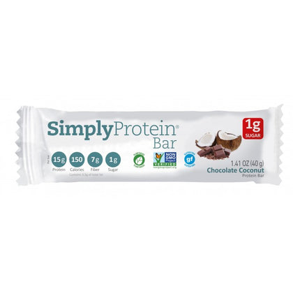 Simplty Protein Chocolate Coconut 40g