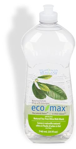 Eco Max Tea Tree Ultra Dish Wash 740ml