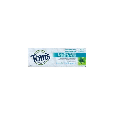 Spearmint 85 ml TOOTHPASTE  TOMS